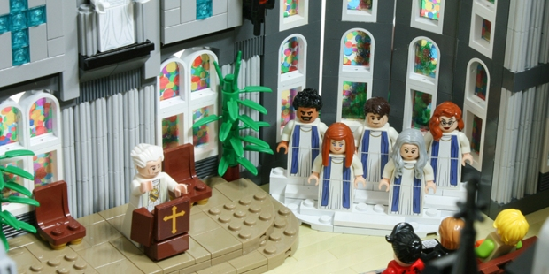CHURCH LEGOS