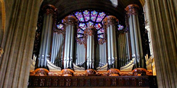 ORGAN; NOTRE DAME CATHEDRAL