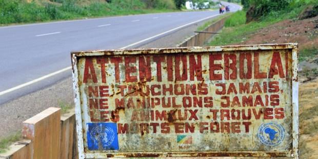 EBOLA SIGN IN CONGO
