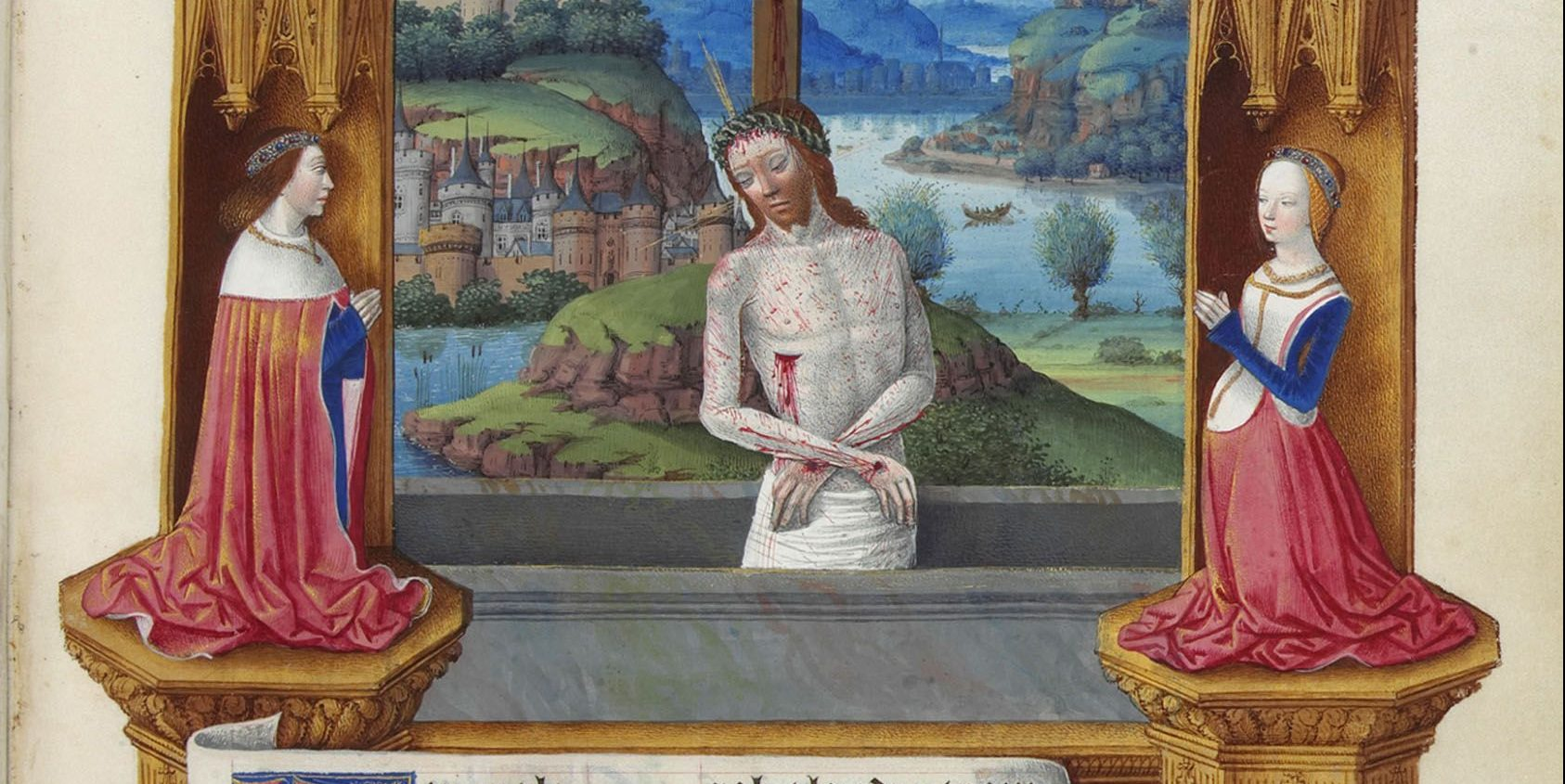 BOOK OF HOURS; MAN OF SORROWS