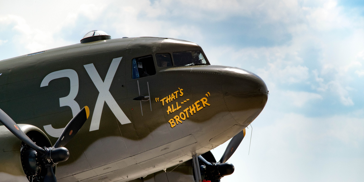 C-47 NAMED THAT'S ALL BROTHER