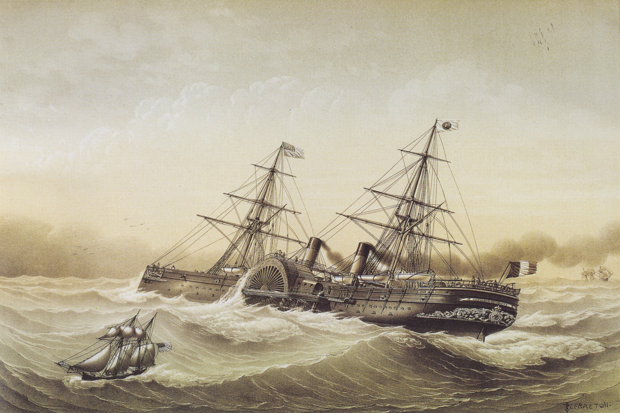 NAPOLEON,SHIP,LITTLE SISTERS OF THE POOR