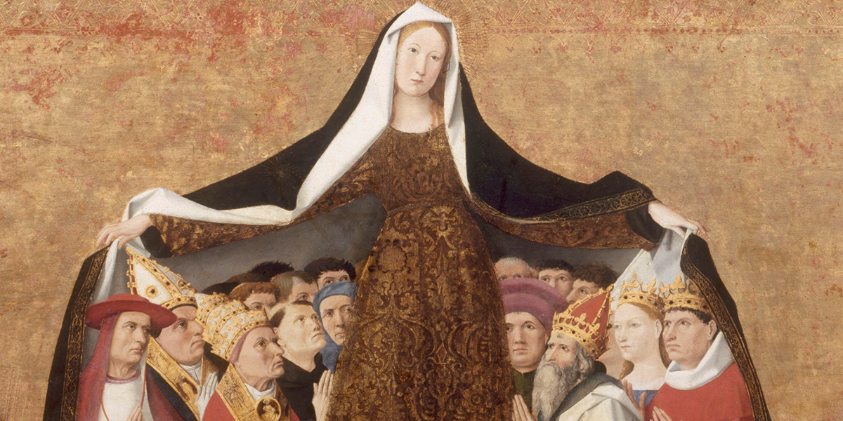 Place yourself under the mantle of the Virgin Mary with this prayer