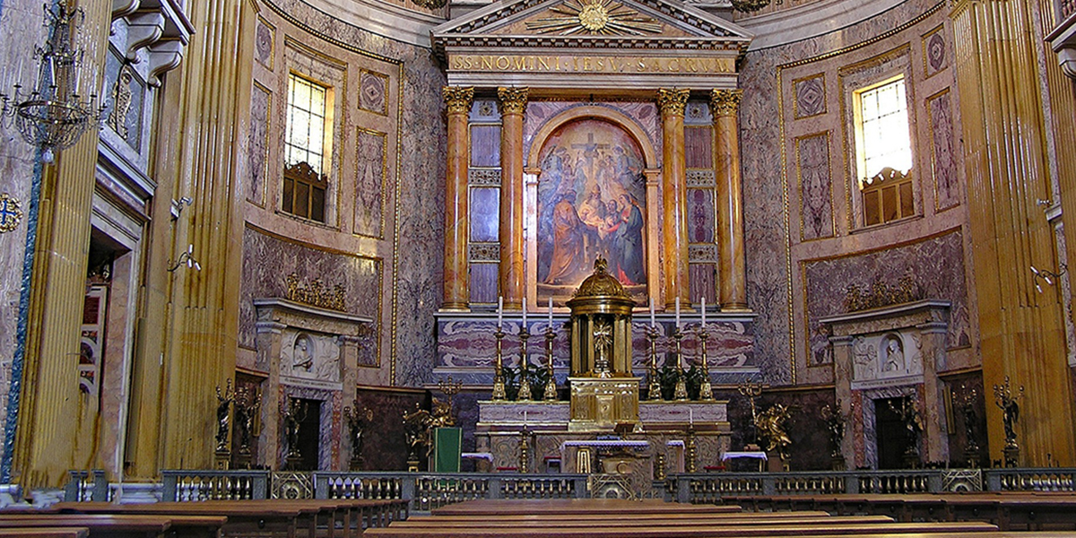The Church of Il Gesù