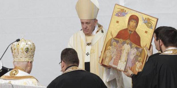 POPE FRANCIS, ROMANIA