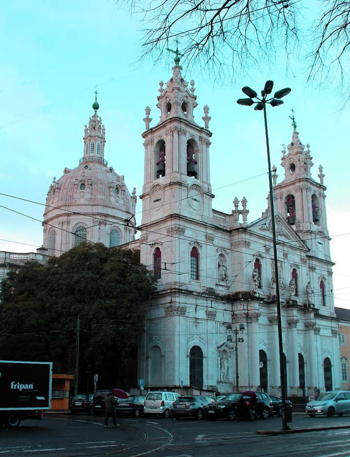 LISBON; BASILICA DA ESTRELA; SACRED HEART