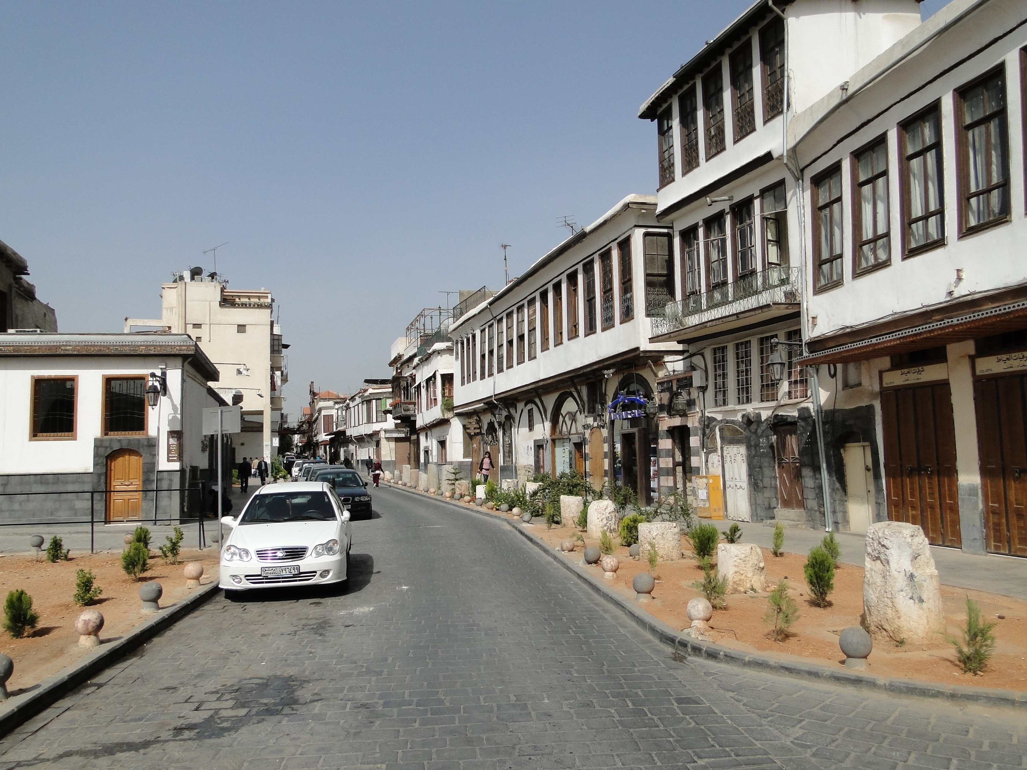 STRAIGHT STREET; BAB SHARQI; DAMASCUS