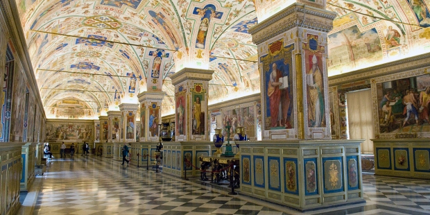 The Vatican Library has been online for years, and you can access it here