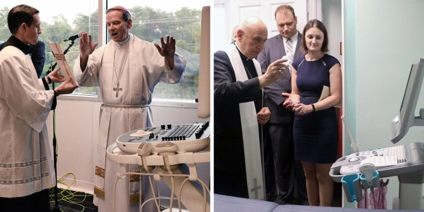 ULTRASOUND MACHINE BLESSING