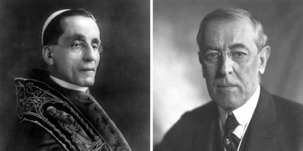 Woodrow Wilson and Pope Benedict XV