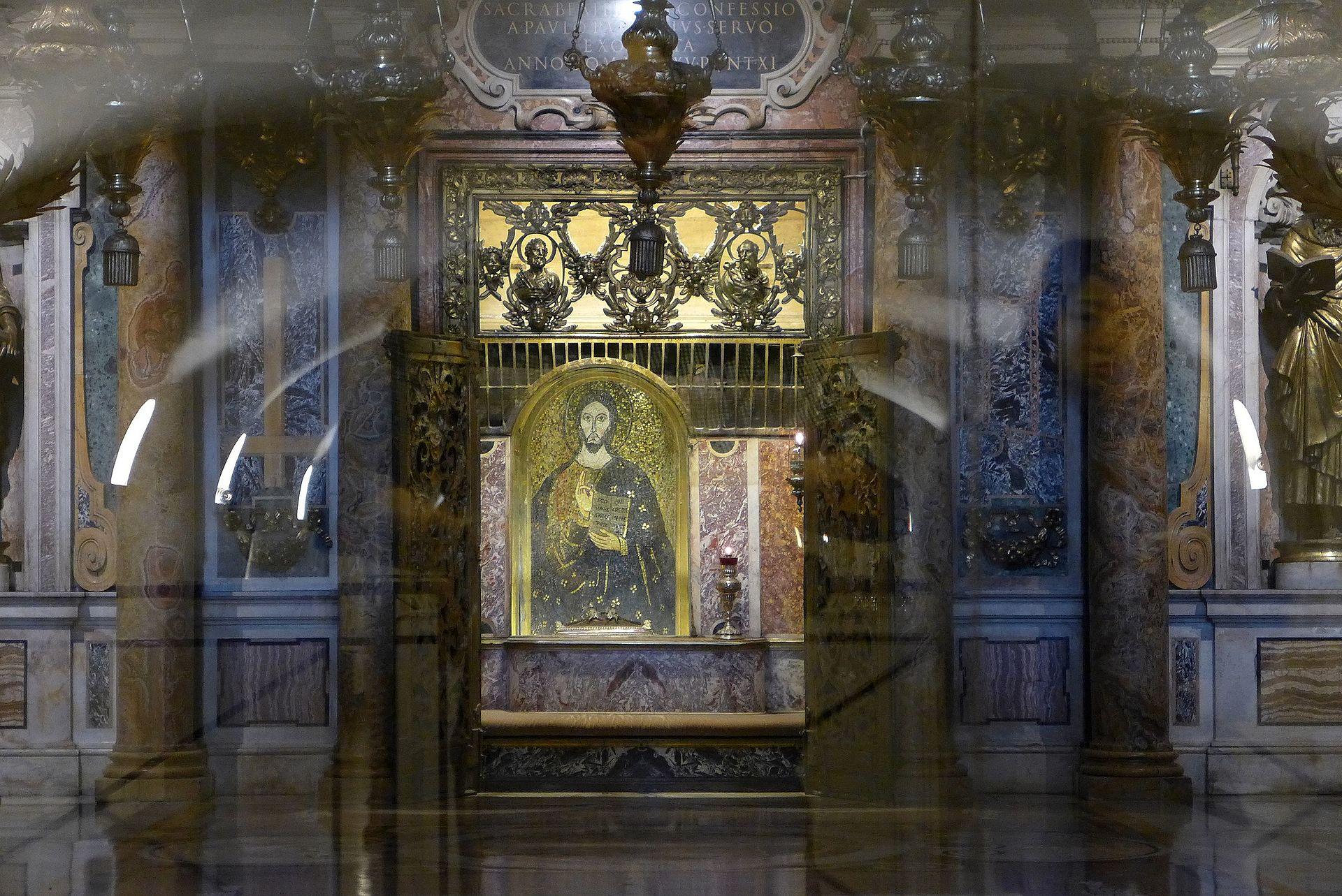 Tumba de San Pedro, Grutas Vaticanas