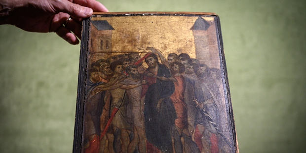Cimabue's Christ Mocked