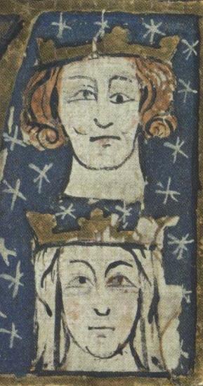 EDWARD I AND ELEANOR OF CASTILE