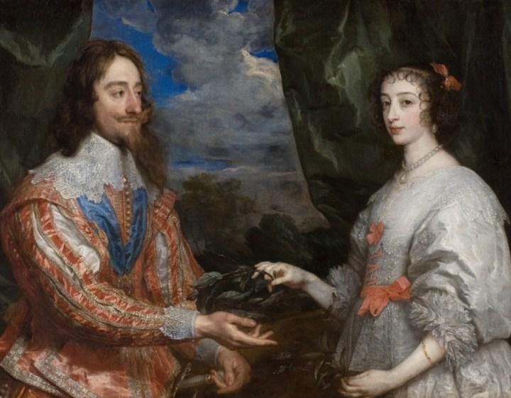 HENRIETTA MARIA; King Charles II