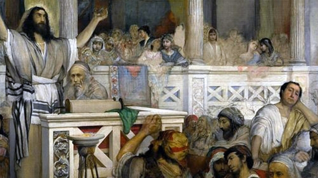 Christ Preaching at Capernaum