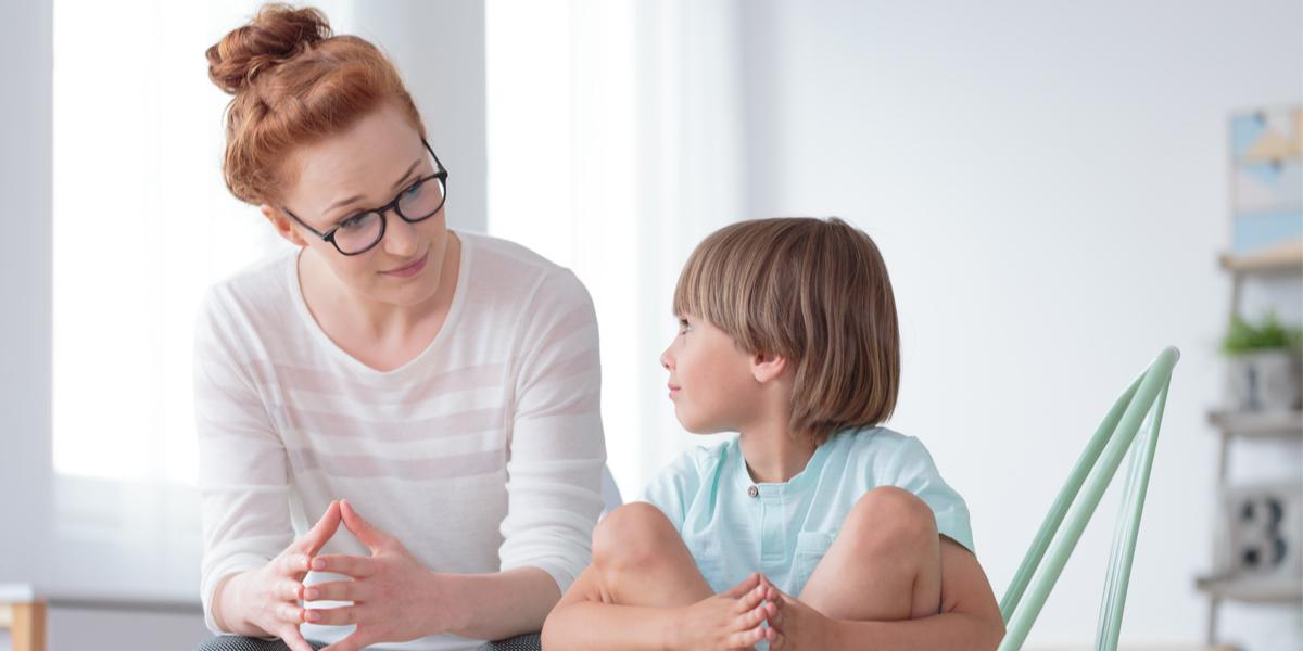 Woman - Boy - Conversation - Speak