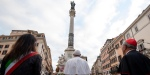 POPE FRANCIS Piazza di spagna