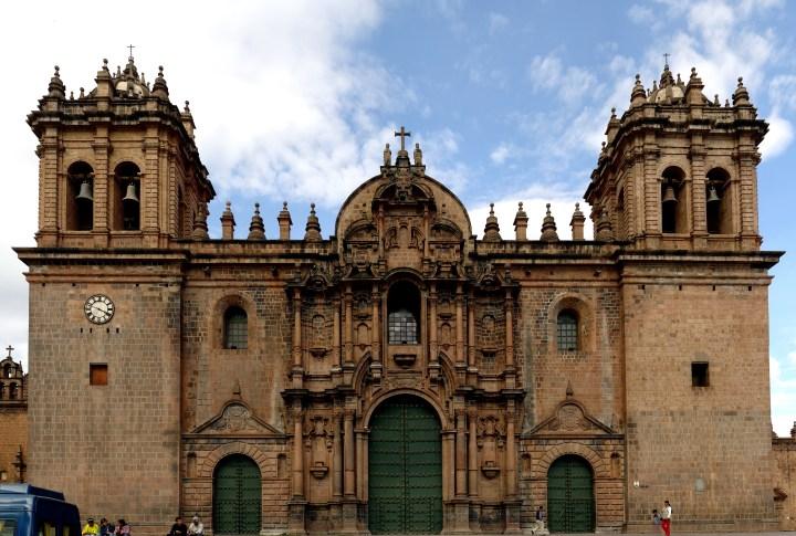 CUSCO CATHEDRAL; PERU
