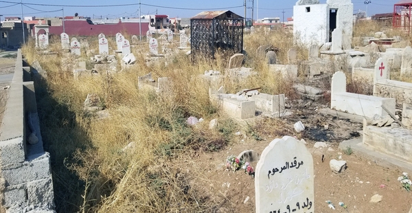 CHRISTIAN CEMETERY IN IRAQ