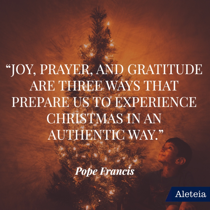 CHRISTMAS POPE QUOTES