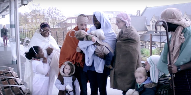 LONDON NATIVITY VIDEO