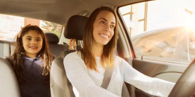 Mom - Daughter - Car