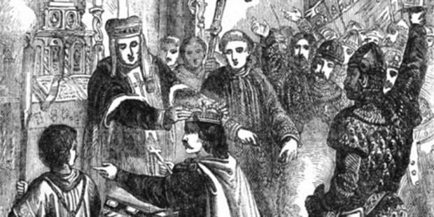 CORONATION OF WILLIAM THE CONQUEROR