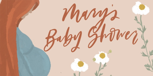 MARY'S BABY SHOWER