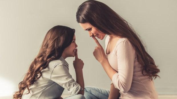 Mom, Mother, Girl, Daughter, Silence,