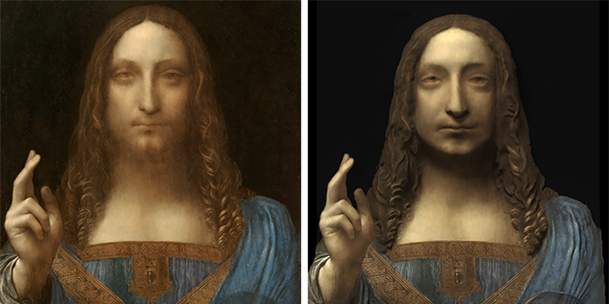 SALVATOR MUNDI OPTICAL ACCURACY STUDY