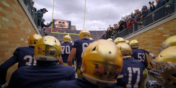 NOTRE DAME MASS HYPE VIDEO