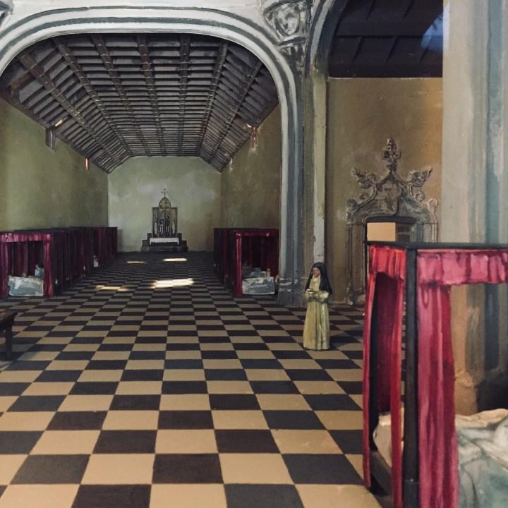 DIORAMA; CATHOLIC HOSPITAL