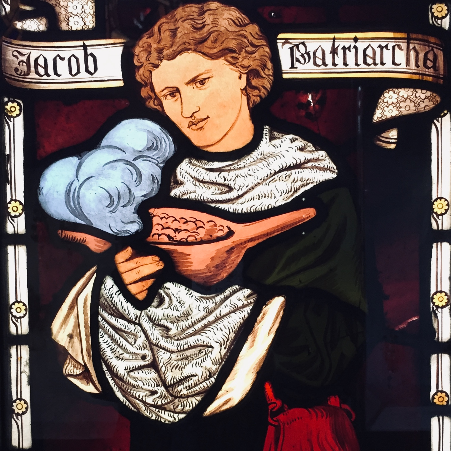 ROSSETTI; STAINED GLASS; LENTILS