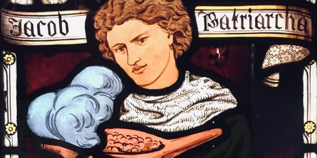 STAINED GLASS; ROSSETTI; LENTILS
