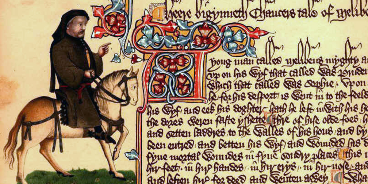 Free App Allows Listeners To Hear Canterbury Tales In Original Language The Canterbury Tales