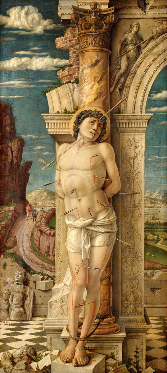 Saint Sebastian of Vienna, Andrea Mantegna