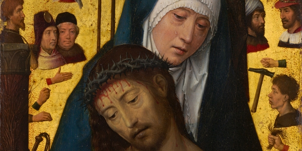 THE MAN OF SORROWS IN THE ARMS OF THE VIRGIN