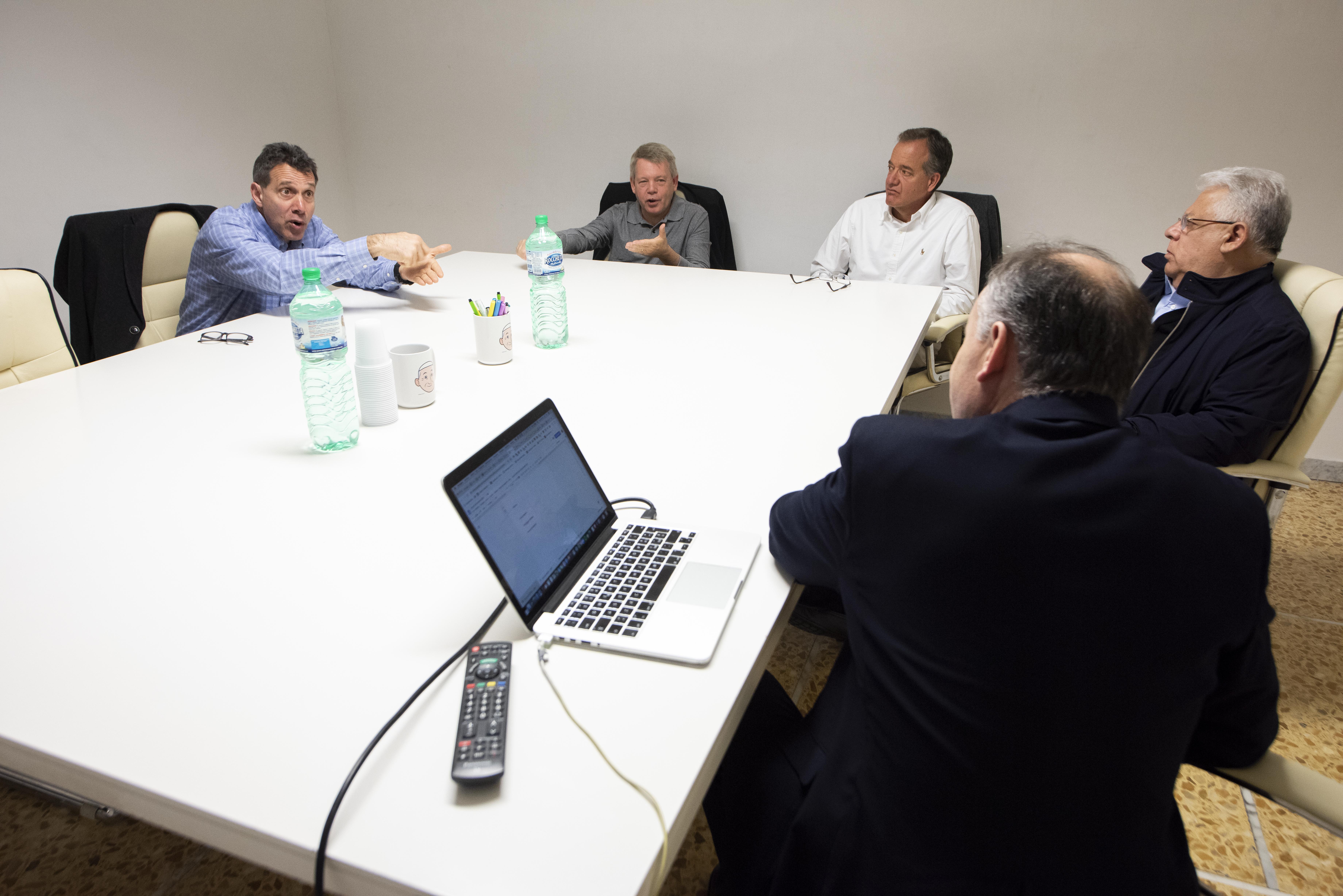 SOMOS Community Care representatives in Rome.