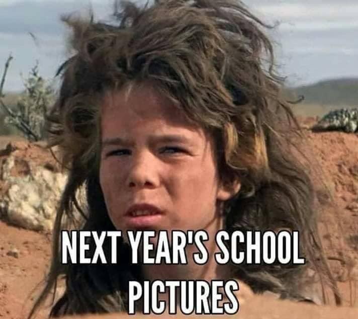 hair school photo