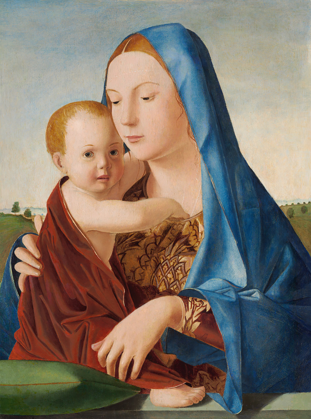 Antonello Da Messina's Madonna With The Child (1475)