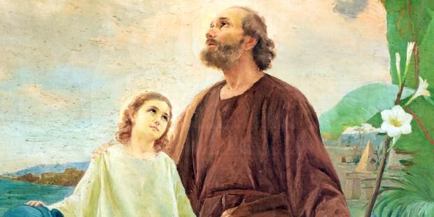 SAINT JOSEPH AND CHILD JESUS