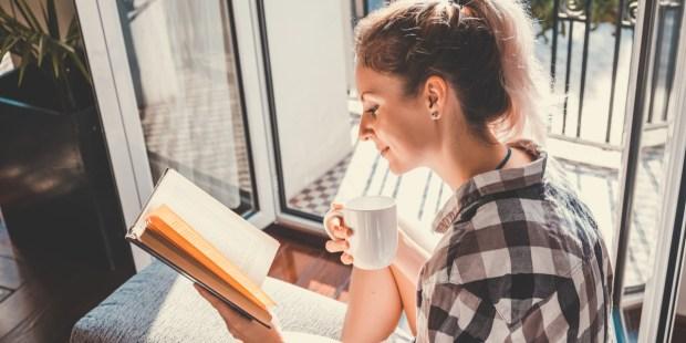 Poetry, Woman, Home, Reading, Lockdown