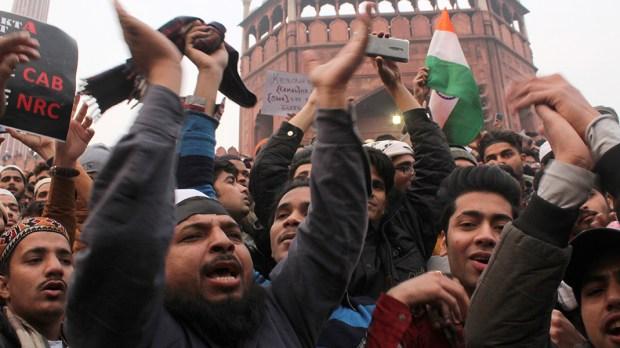 INDIA PROTEST CAA