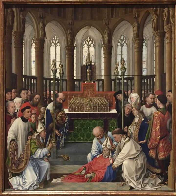 Rogier van der Weyden ; Saint Hubert