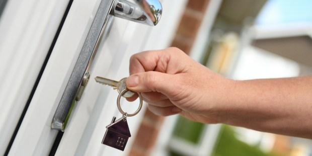 Opening, closing, door, home, key