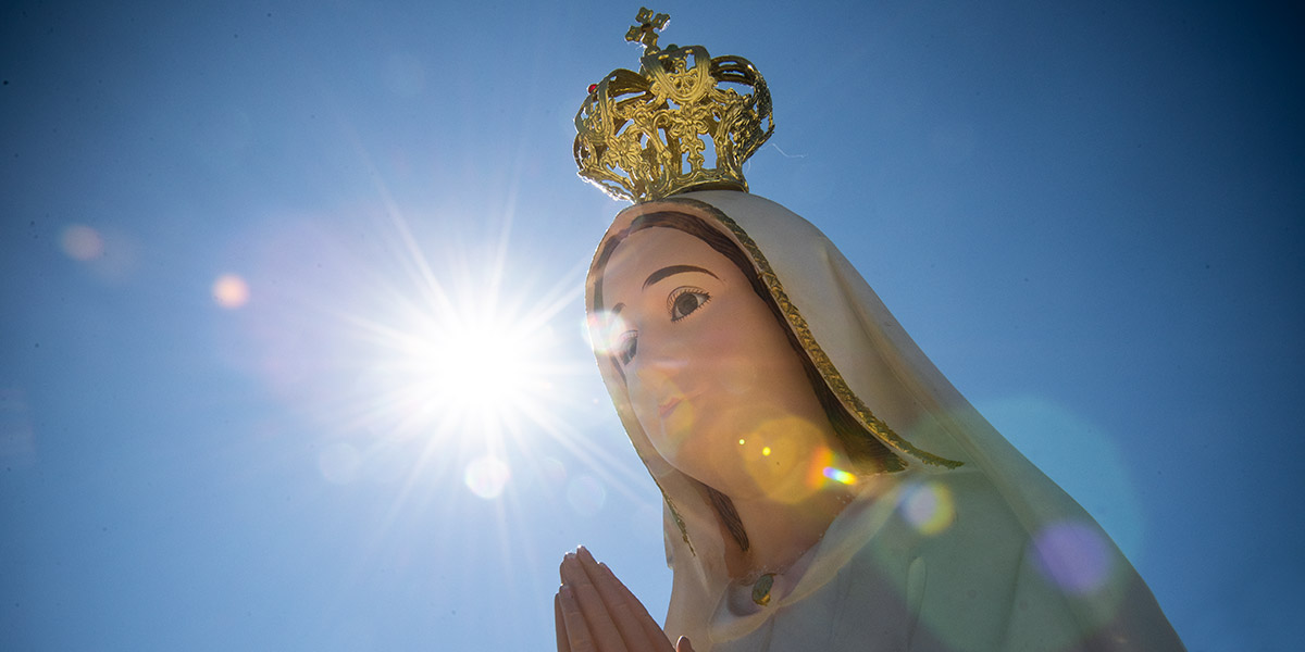OUR LADY OF FATIMA,SUN