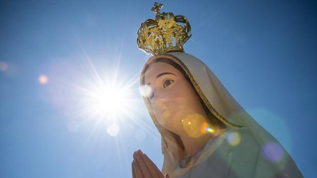 OUR LADY OF FATIMA,SUN