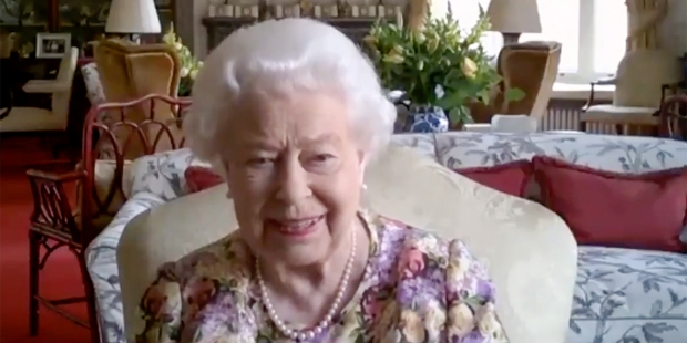 QUEEN ELIZABETH'S ZOOM CALL