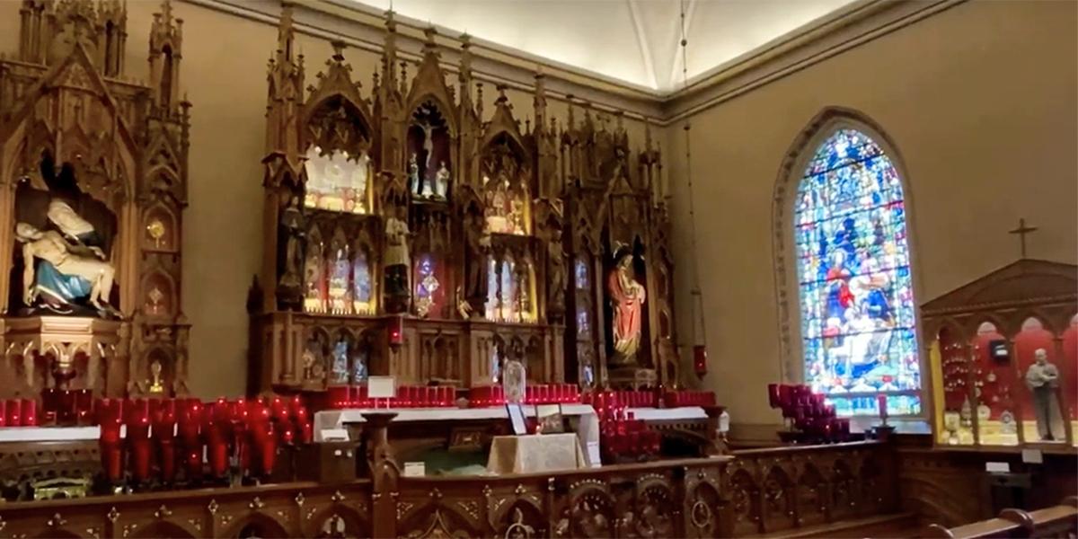 Maria stein shrine
