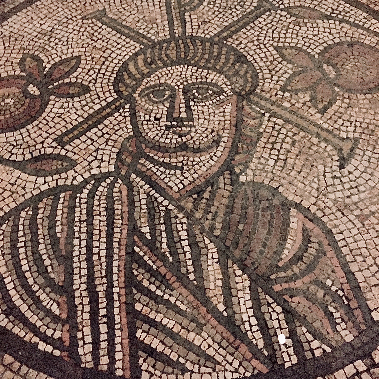 JESUS; mosaic